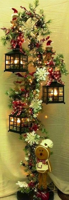 Christmas Decor, No Instructions
