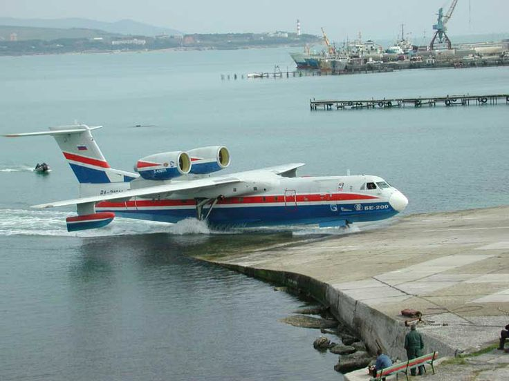Image result for Beriev Be-200 Seaplane - 1998