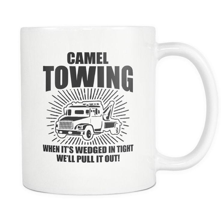 Camel Towing Coffee Mug, 11 Ounce