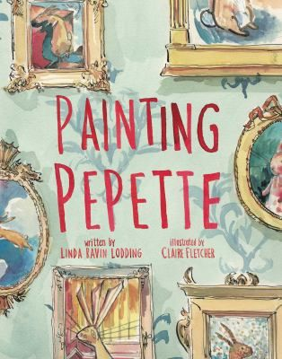 Painting Pepette by Linda Ravin Lodding