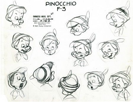 Michael Sporn Animation – Splog » Pinocchio Model Monday ★ || CHARACTER DESIGN REFERENCES (www.facebook.com/CharacterDesignReferences & pinterest.com/characterdesigh) • Love Character Design? Join the Character Design Challenge (link→ www.facebook.com/groups/CharacterDesignChallenge) Share your unique vision of a theme every month, promote your art and make new friends in a community of over 20.000 artists! || ★