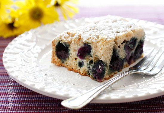 Easy Blueberry Buttermilk Cake