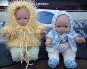 Ladyfingers - 5-inch Itty Bitty doll patterns - Part 2