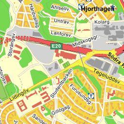 Sverige — Kartor över Sverige. Upptäck lokala företag, sök efter vänner och familj samt kolla tomtgränser, historiska flygfoton, cykelvägar m.m.115 40 sthlm