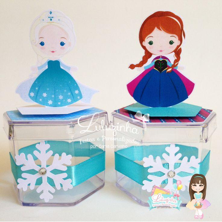 caixa-acrilica-personalizada-frozen-olaf
