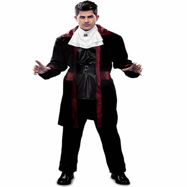 DisfracesMimo, disfraz de conde dracula hombre talla m/l. Lo pasarán de muerte asustando a los pequeños en la noche de Terror y halloween. Este disfraz es ideal para tus fiestas temáticas de miedo y vampiro para adulto