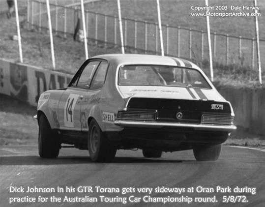 Dick Johnson XU1 Oran Park