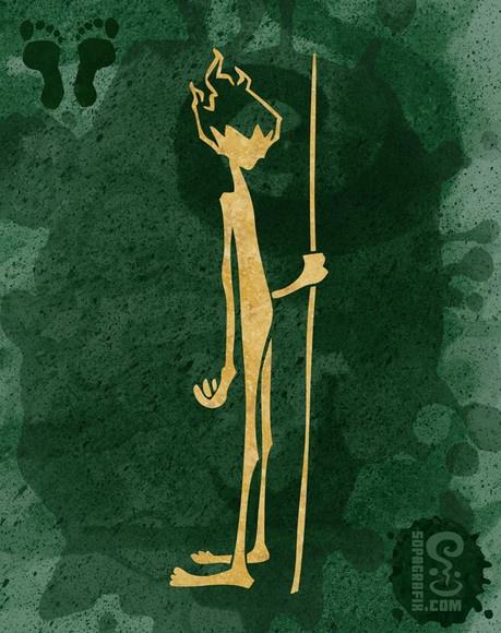 CURUPIRA - FOLCLORICOS Para entrar numa mata com permissão da Caipora, a pessoa deve levar sempre uma oferenda para ela, como um Pedaço de Fumo-de-Rolo, um Cachimbo. Caipora emite um som estridente causando que causa arrepios e pavor a todos os que o escutam. Em algumas regiões do Brasil Caipora é conhecido como o Curupira.