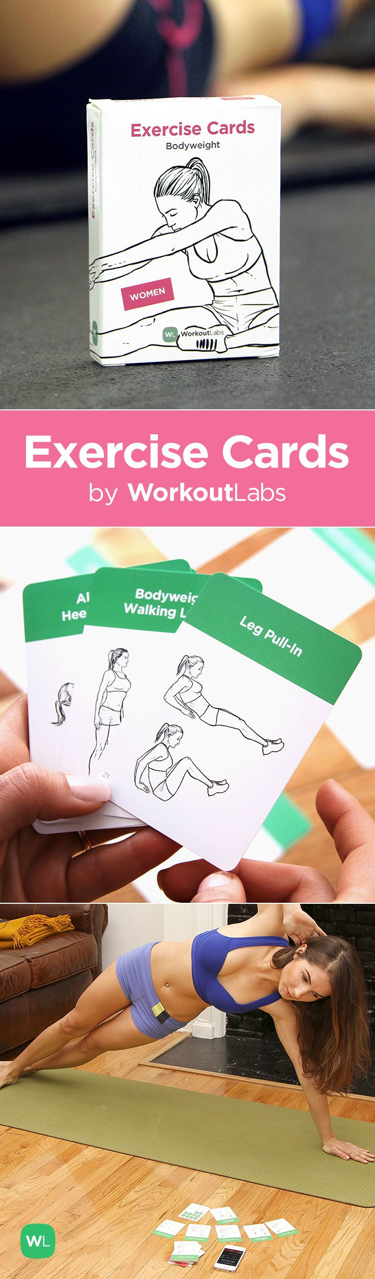 LOVE these Exercise Cards!! Get yours at http://Workoutlabs.com/exercise-cards