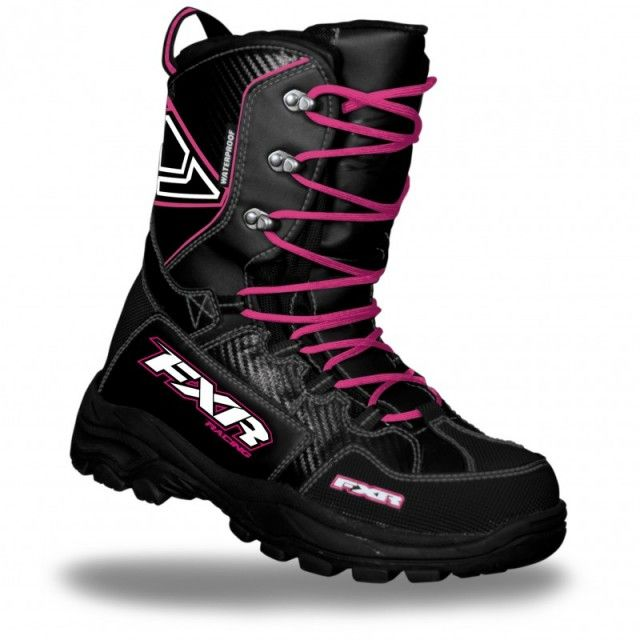 2013 FXR Racing Womens X Cross Snowmobile Boot $169.99 | Snow  Bought them and LOVE them!!!