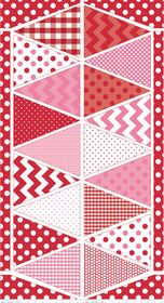 "Wimpelkette zum selber nähen. - Riley Blake Designs ""Holiday Banners"""
