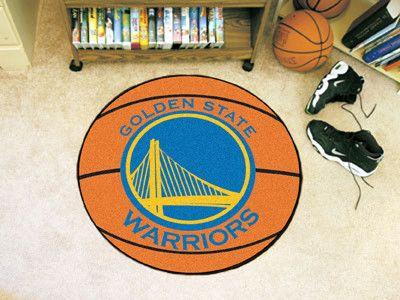 The Golden State Warriors Basketball Mat By FanMats
