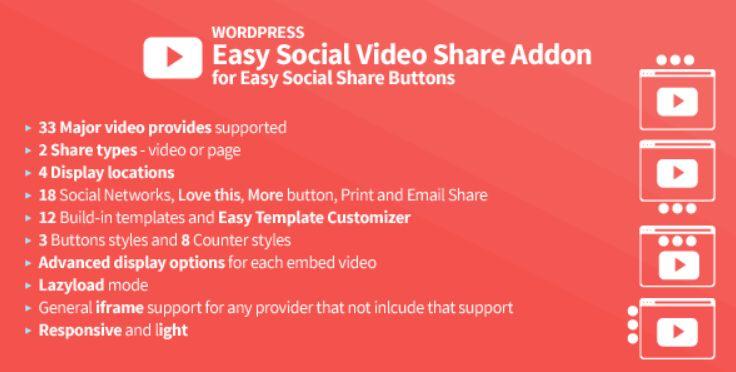 Easy Social Video Share