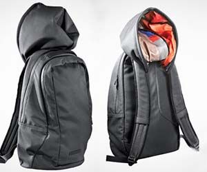 Awesome Sh*t You Can Buy - Hoodie Backpack Ward off those spring time showers...