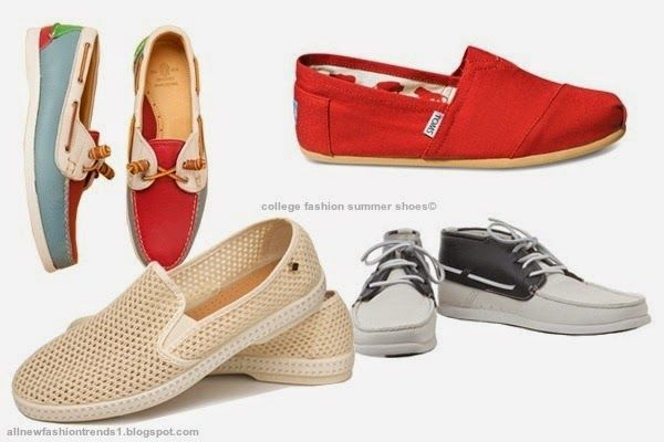 college fashion summer shoes