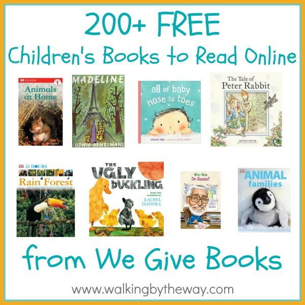 200+ Free Children's Books | Walking by the Way