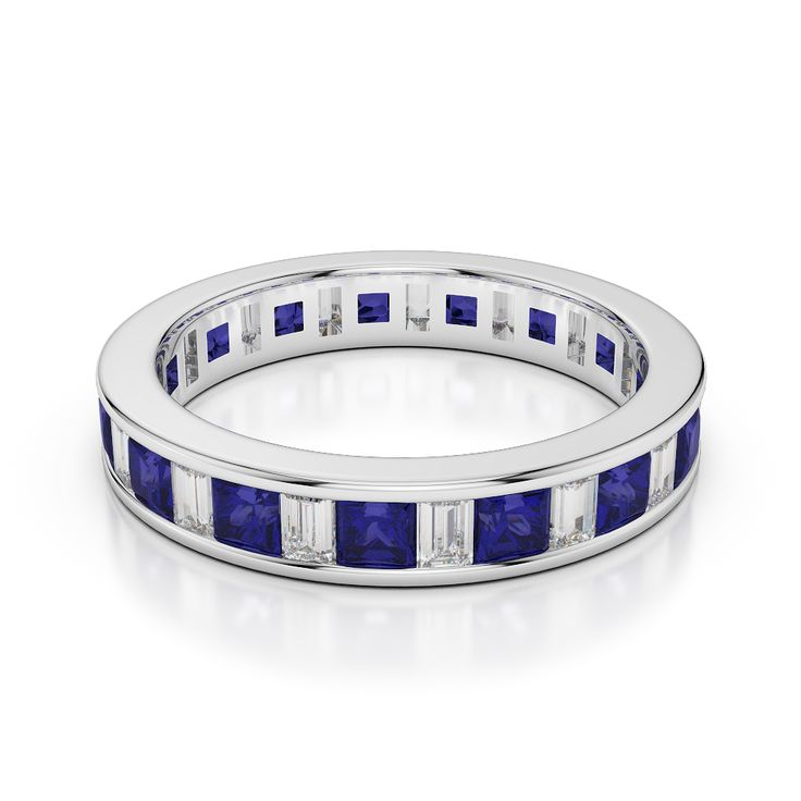 AG & Sons - Sapphire Eternity Ring