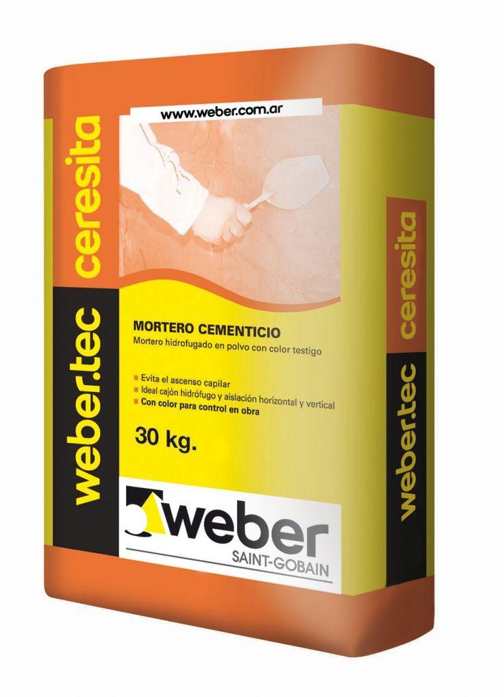 Weber presenta su amplia línea de impermeabilizantes.