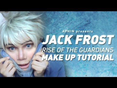 Jack Frost Cosplay Makeup Tutorial (Rise of the Guardians) - YouTube