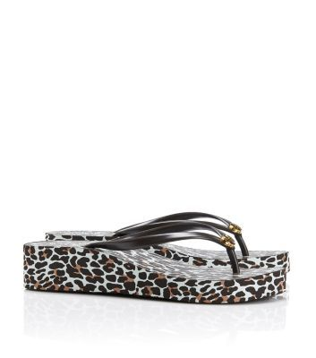 Tory Burch Thandie Wedge Flip-flop : Women's View All | Tory Burch