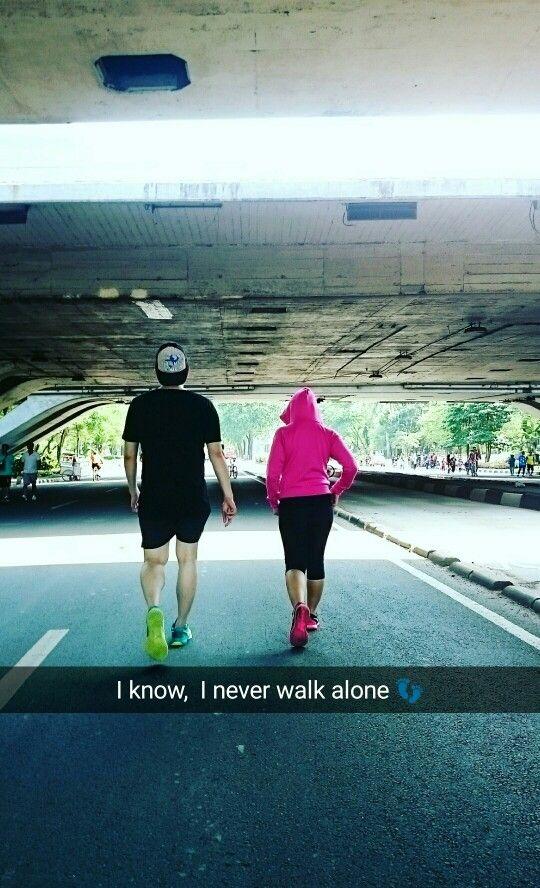 Trust God you Never walk alone.