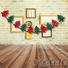 2.2 м елки баннер рождественская елка овсянка баннеры декоративный цветок рождественские украшения баннер(China (Mainland))