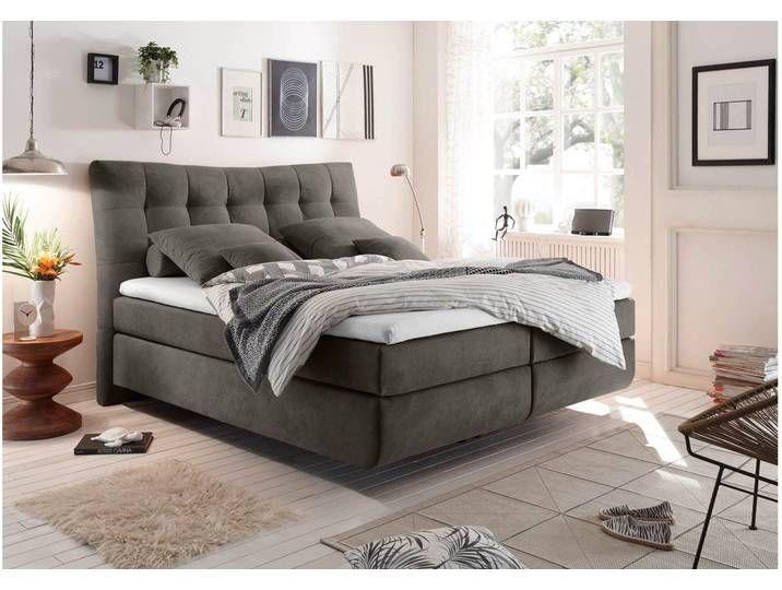 Stylefy Juneau Boxspringbett 180x200 Dunkelbraun In 2020 Bett