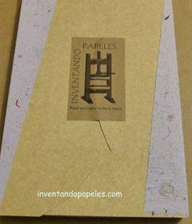 25 hojas de papel reciclado Oficio,