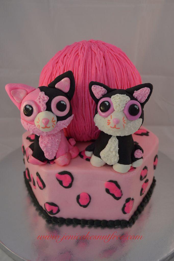 Beanie Boos Cake Google Search Dede 7 Cakes Beanie