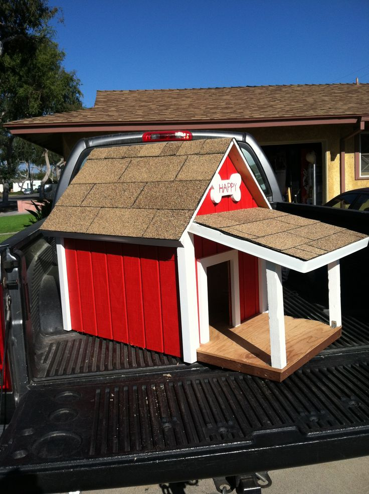 Weather Proof Dog House With A Porch My Creations