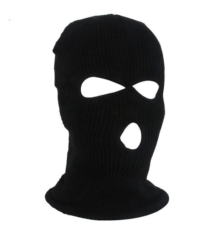 Black Balaclava Masks Hat For Winter Face Cover Scream Halloween Bonnet Party Bicycle Ski Masks Full Face Mask Winter Face Face Mask