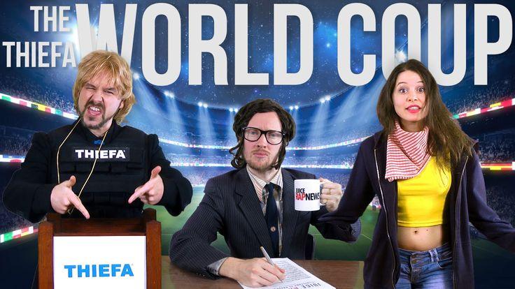 The World Coup - THIEFA vs Brazil [RAP NEWS 26]