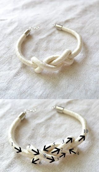 A cute idea you can do with a broken hair tie so don't throw them away!