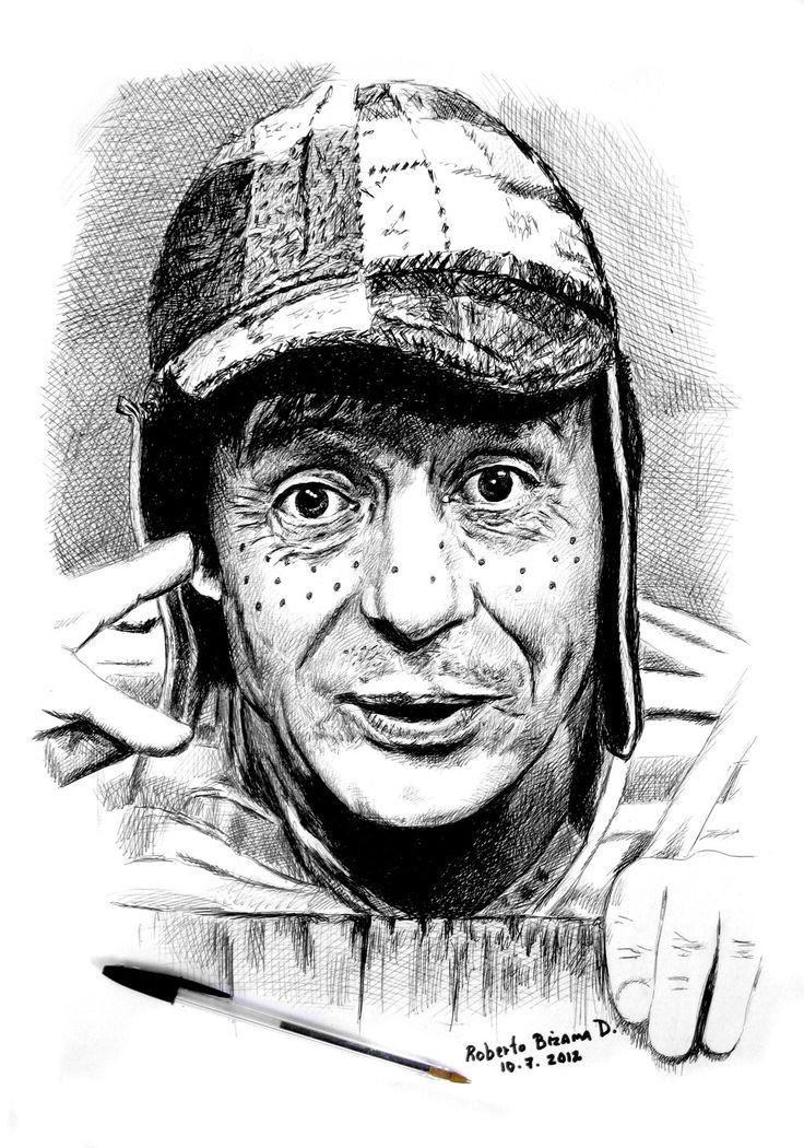 Roberto Gómez Bolaños creé el personaje del chavo del ocho by RobertoBizama.deviantart.com on @deviantART