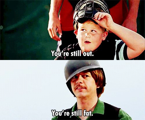 Benchwarmers, David Spade  David Spade is King.  the best part. ;D
