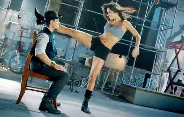 Aamir Khan doing Tap dance there in Dhoom 3 also the latest offering from Dhoom 3 is yet another attractive dance song called 'Kamli' which some more daring stunts and incredible dance moves by a Katrina Kaif.