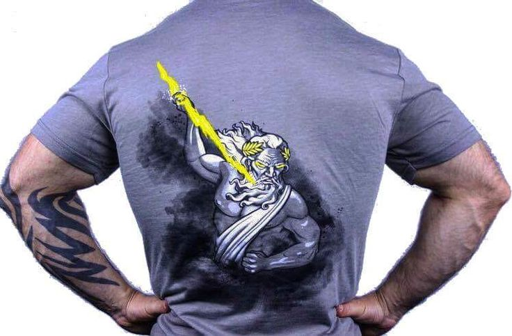 www.jekyllhydeapparel.com  Zeus t-shirt release!  $5.00 OFF For the first 24 hours! These WILL sell out, so act quickly. (Can not be combined with any other offer)  Zeus was the baddest of the baddest. God of thunder, lighting, law, order and justice. He was the King of Gods. And that's what you are, one bad dude that will reign down thunder and lighting upon your opponent if need be.