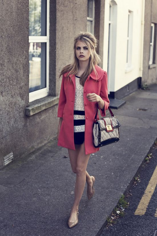 Loved the retro charm of this shoot for A|wearfall10 ... features model Cara Delevingne in a very cool Sixties style.