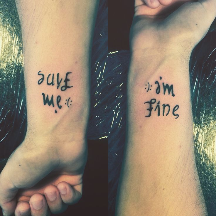 Sad Quotes About Depression: Best 25+ Im Fine Save Me Tattoo Ideas On Pinterest