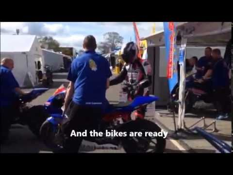 Our sponsored racer, Jordan Gilbert, takes us behind the scenes at Oulton Park #motorcycle #racing #BSB