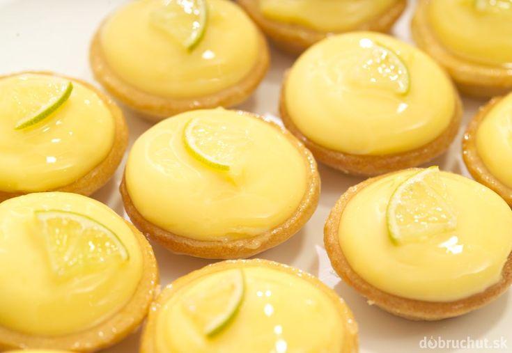 Tartaletky s citrónovým krémom
