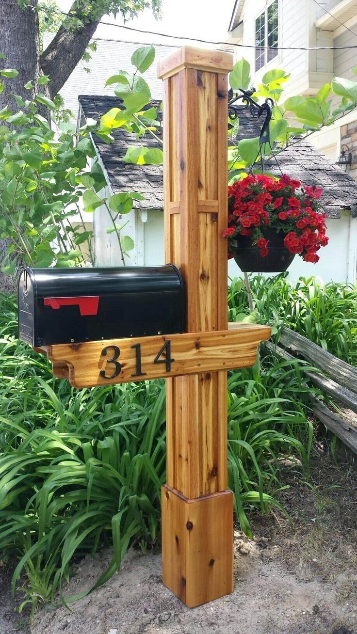 17 Diy Mailbox Ideas Are Sure To Promote The Appeal Diy Crafts Blog Wooden Mailbox Diy Mailbox Rustic Mailboxes