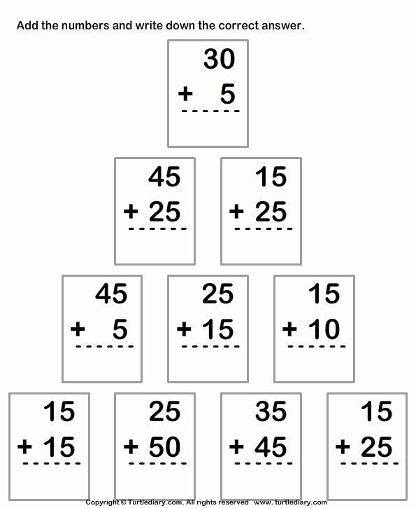 Double Digit Addition Worksheets First Grade Addition Worksheets First Grade Worksheets Worksheets