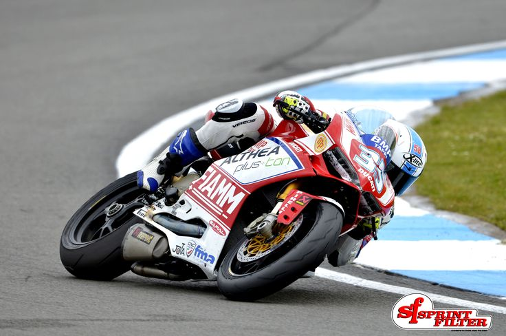 Raffaele De Rosa - Ducati PanigaleR by Althea Racing - On Podium at Imola Circuit