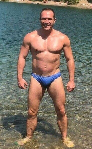 8cbf19cbec Pin by Richard Zielinski on Speedo Dads   Swimwear, Men, Fashion