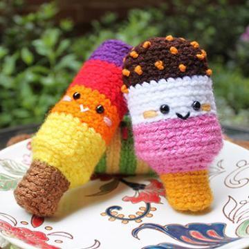 Popsicle Party amigurumi crochet pattern / Free amigurumi pattern