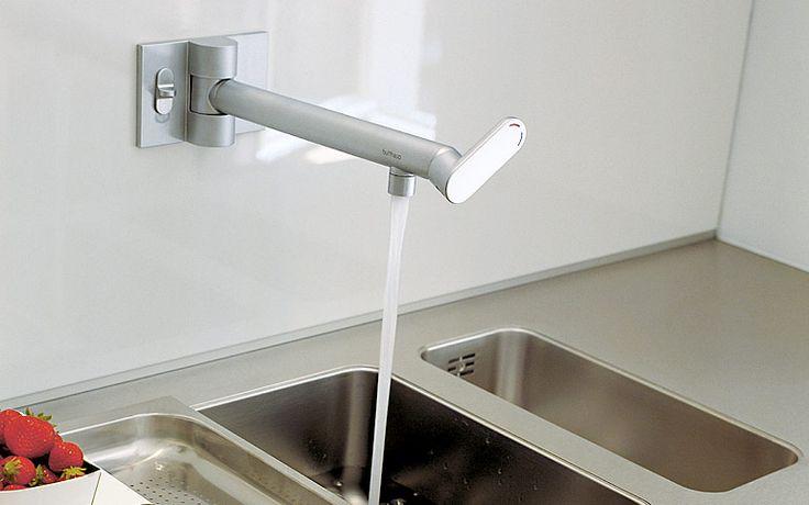 Culimaat Ligna Designkeuken : bulthaup keuken wandkraan: Bulthaup ...