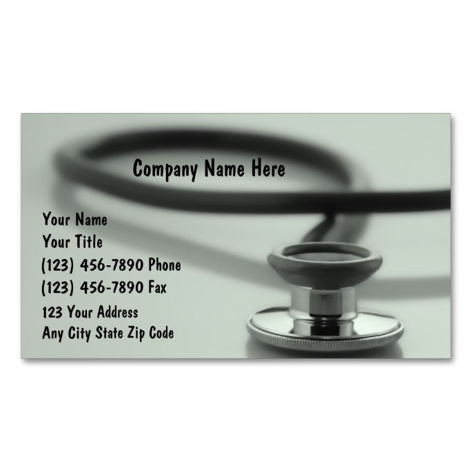 2183 Best Medical Health Business Card Templates Images On