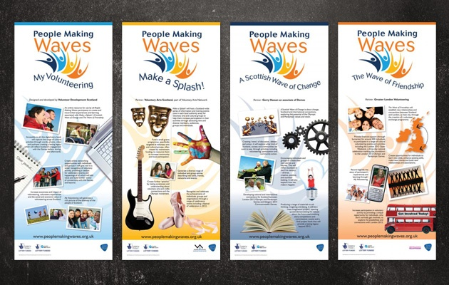 People Making Waves, initiative connecting the people of Scotland with the London 2012 Olympics