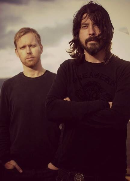 Nate Mendel and Dave Grohl
